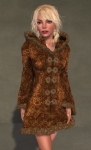 Faerie Winter Coat BROWN06