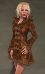 Faerie Winter Coat BROWN07