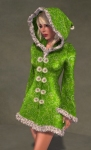 Faerie Winter Coat GREEN03