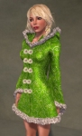 Faerie Winter Coat GREEN05