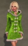 Faerie Winter Coat GREEN06