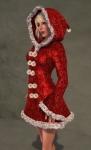 Faerie Winter Coat RED04