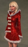 Faerie Winter Coat RED05