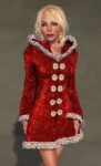 Faerie Winter Coat RED06