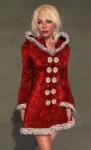 Faerie Winter Coat RED06