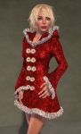 Faerie Winter Coat RED07