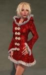 Faerie Winter Coat RED07