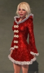 Faerie Winter Coat RED08