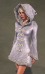 Faerie Winter Coat WHITE03