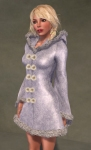 Faerie Winter Coat WHITE05