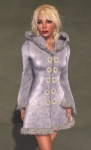 Faerie Winter Coat WHITE06