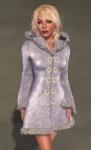 Faerie Winter Coat WHITE06