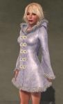 Faerie Winter Coat WHITE08