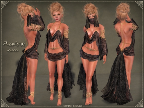 Angelynn Silks *ONYX* by Caverna Obscura