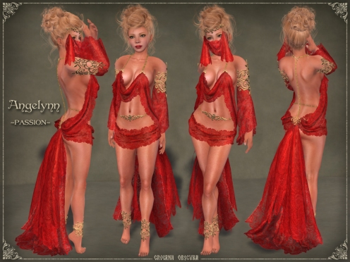 Angelynn Silks *PASSION* by Caverna Obscura