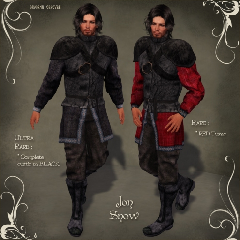FGC Jon Snow outfit by Caverna Obscura