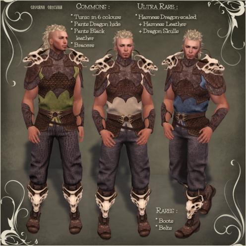 FGC Targaryen Outfit Items
