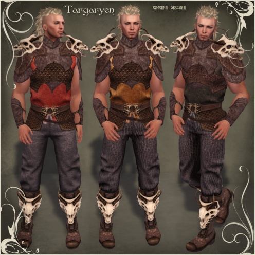 FGC Targaryen Outfit by Caverna Obscura