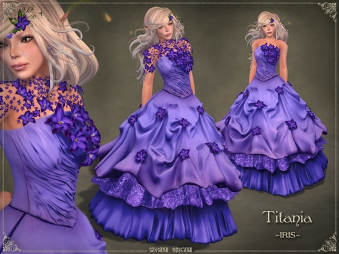 Titania Gown *IRIS* by Caverna Obscura