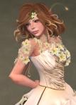Titania Gown IVORY07