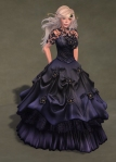 Titania Gown MIDNIGHT01