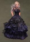 Titania Gown MIDNIGHT01