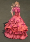 Titania Gown ROSE01
