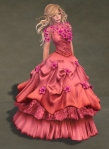 Titania Gown ROSE02
