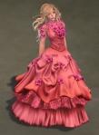 Titania Gown ROSE02