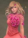 Titania Gown ROSE03