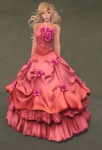 Titania Gown ROSE06
