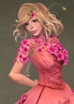 Titania Gown ROSE07