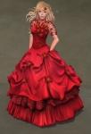 Titania Gown SCARLET04