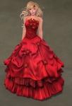 Titania Gown SCARLET06