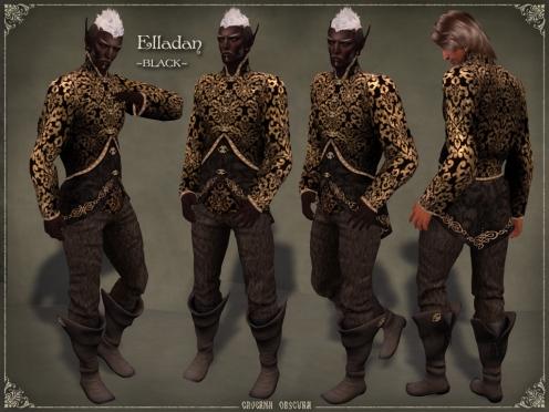 Elladan Outfit ~BLACK~ by Caverna Obscura
