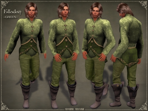 Elladan Outfit ~GREEN~ by Caverna Obscura