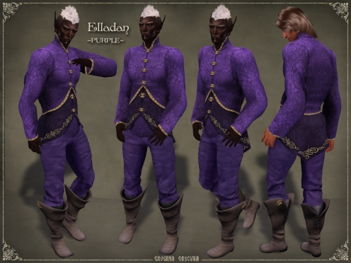 Elladan Outfit ~PURPLE~ by Caverna Obscura