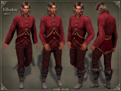 Elladan Outfit ~RED~ by Caverna Obscura