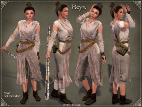 Reya Outfit by Caverna Obscura