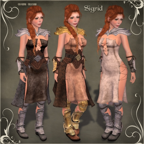FGC Sigrid Outfit by Caverna Obscura