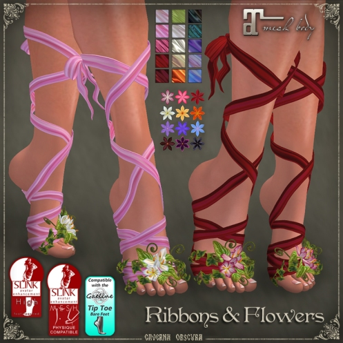 Ribbons and Flowers by Caverna Obscura