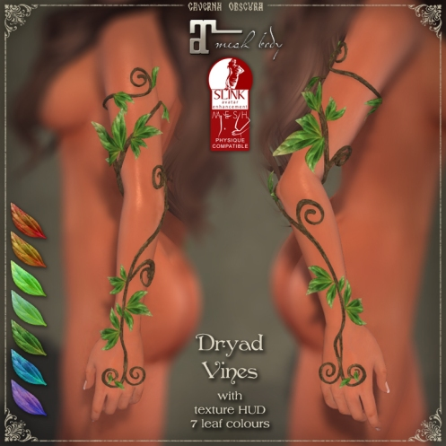 Dryad Vines Arms by Caverna Obscura
