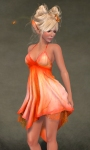Daisy Dress ORANGE03