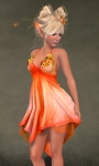 Daisy Dress ORANGE04