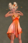 Daisy Dress ORANGE05