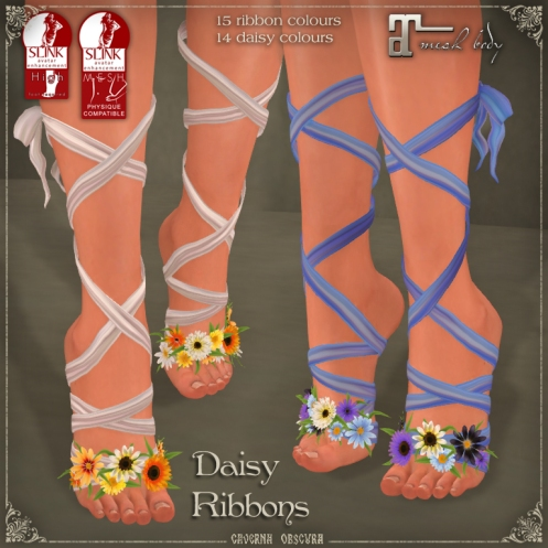 Daisy Ribbons by Caverna Obscura