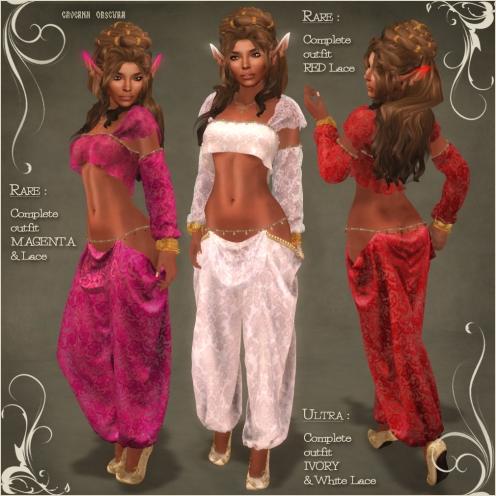 Genie Outfit RARES