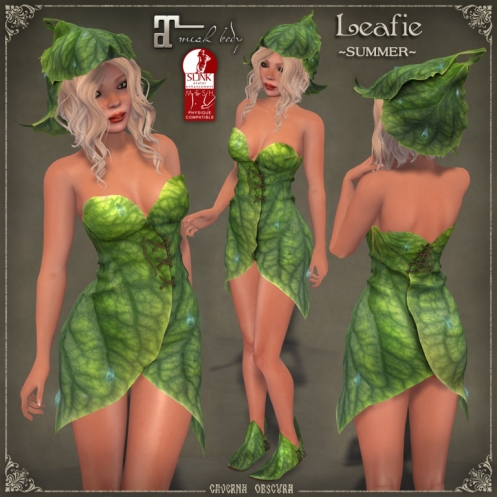 Leafie 3 *SUMMER* Outfit by Caverna Obscura