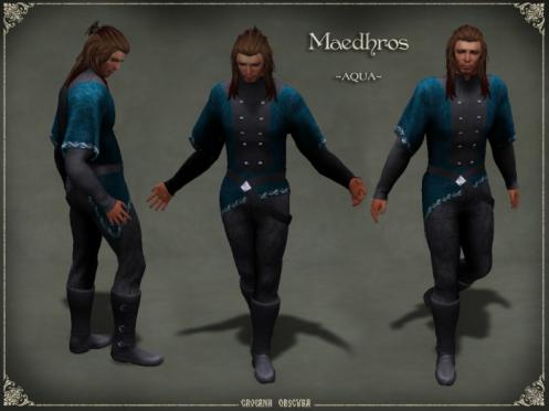 Maedhros Outfit ~AQUA~ By Caverna Obscura