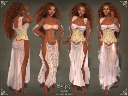 Sylph Silks *PEARL* for mesh bodies by Caverna Obscura